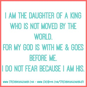 Daughter of the King.